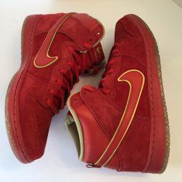 Nike Dunk SB High University Red - Chinese New Year
