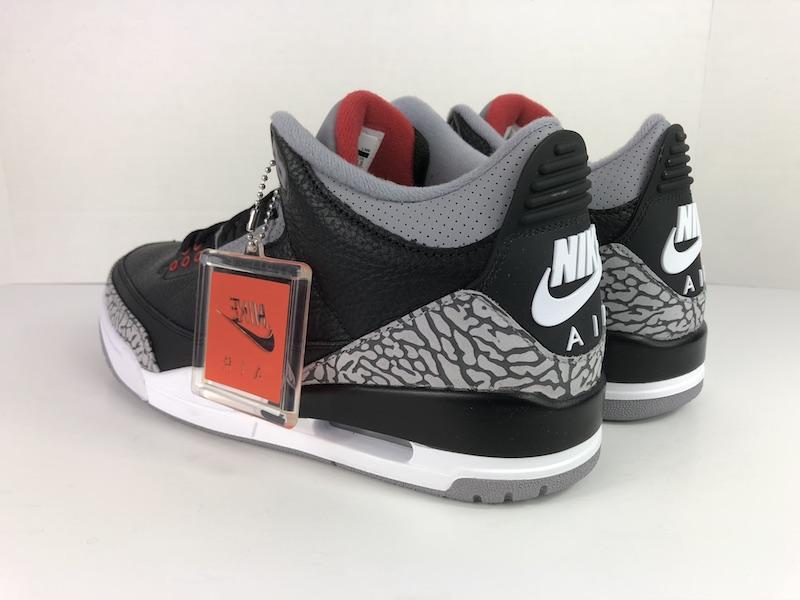 Buy Authentic Nike Air Jordan Retro 3 Black Cement 2018  de958ff94b